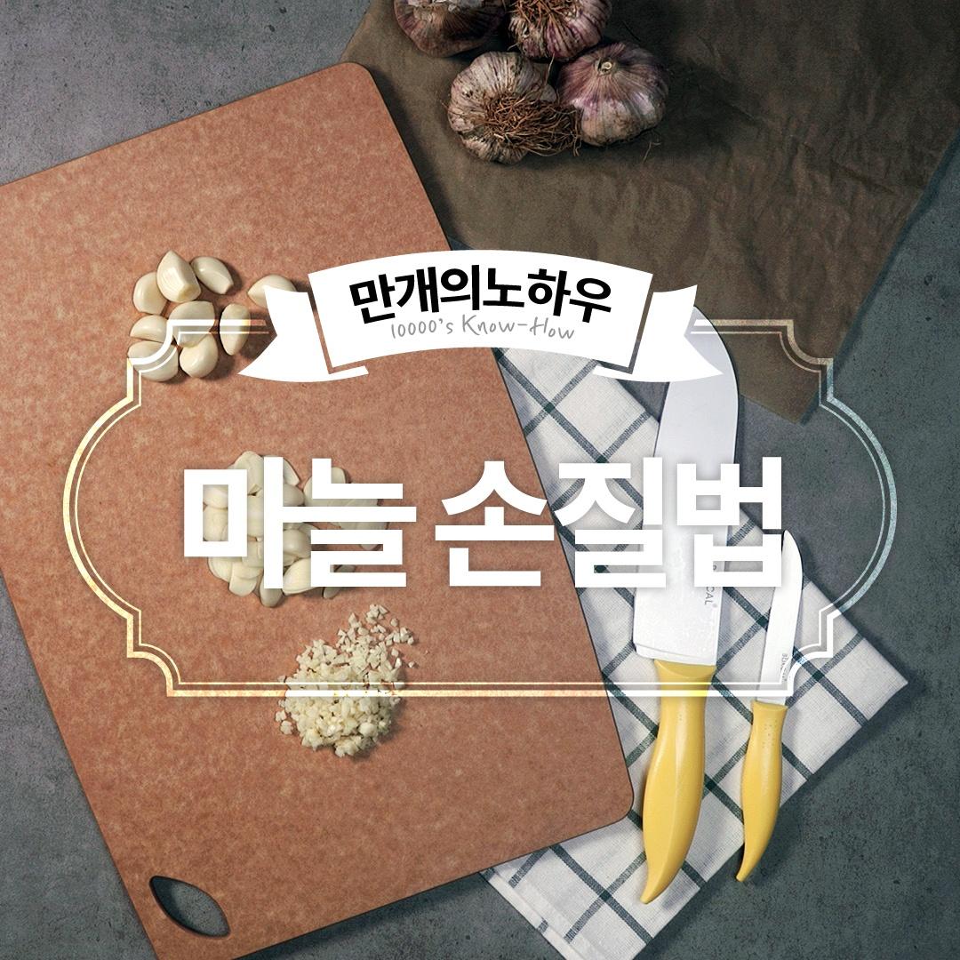 마늘 손질법