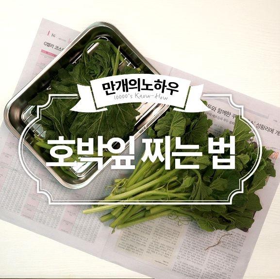호박잎 조리법