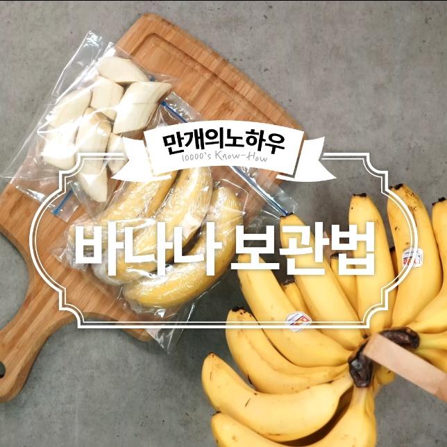 바나나 보관법