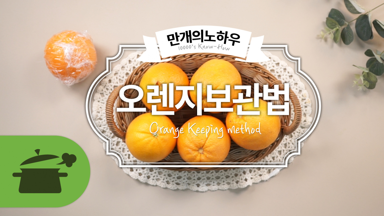 오렌지 보관법