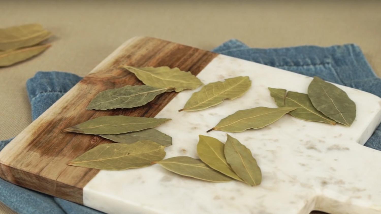 월계수잎 손질법